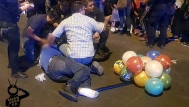 Photo of #Michoacán Huye Motociclista Al Atropellar A Familia Vendedora De Globos En Zamora