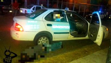 Morelia-pasajero-baleado-Taxi-a