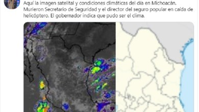 Photo of #Hélicopterazo Periodista Compara Imágen Satelital Del Clima De Michoacán Con Declaración De Silvano