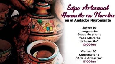 Photo of Secultura Invita A La «Expo Artesanal Huancito En Morelia»