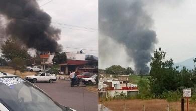 Photo of Evacúan A Población Por Mega Incendio En Uruapan