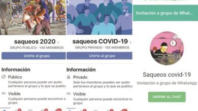 Photo of Ante Contingencia Gente Crea Grupos En Facebook Donde Planean Saqueos En EdoMex