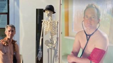 Photo of Doctores Se Fotografían Desnudos Para Manifestarse Contra Falta De Insumos