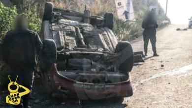 Chocan En Morelia Auto Y Carroza Funeraria; No Hubo Muertos, Nomás Se Volcaron