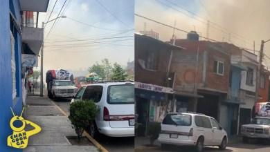 #Morelia Se Incendia Lote De Prados Verdes, Fuego Ya Alcanzó Las Casas