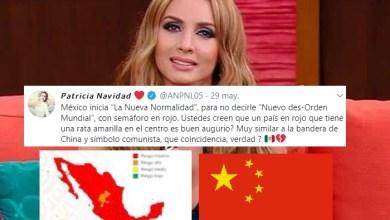 Paty Navidad Asegura Que Mapa De Semáforos En México Es Bandera Socialista De China