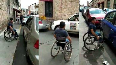 Photo of #Video Chavo Moreliano Muestra Cómo Es Transitar En Silla De Ruedas Por Centro Histórico