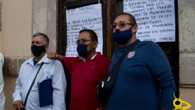 Photo of #Morelia Elementos De Las Policías Del Estado Se Manifiestan En Congreso