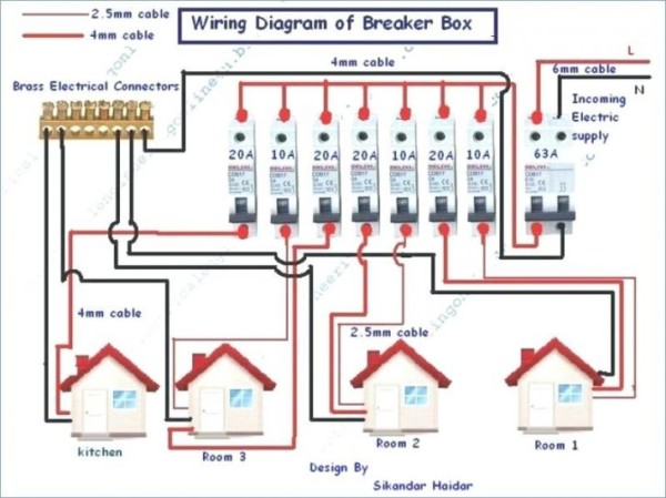 house wiring diagram examples pdf  basic kitchen electrical