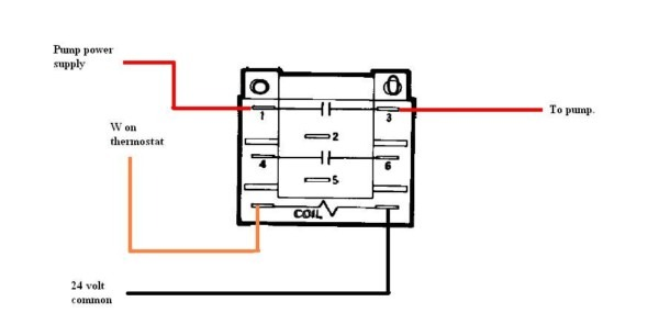 relay wire diagram to furnace  cat5 jack wiring diagram