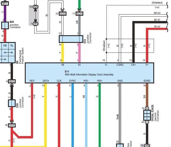 trailer wiring diagram toyota venza  auto wiring diagrams