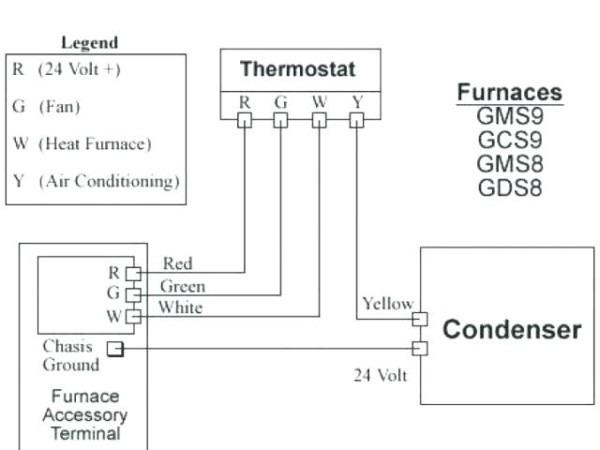 diagram lennox furnace thermostat wiring diagram hecho full