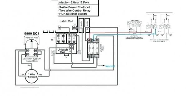 diagram ge 4 pole contactor wiring diagram control full