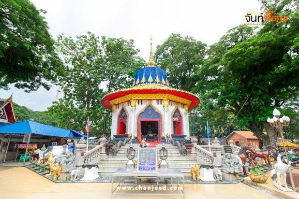 บริเวณโดยรอบ ศาลสมเด็จพระเจ้าตากสินมหาราช สถานที่ท่องเที่ยว จันทบุรี