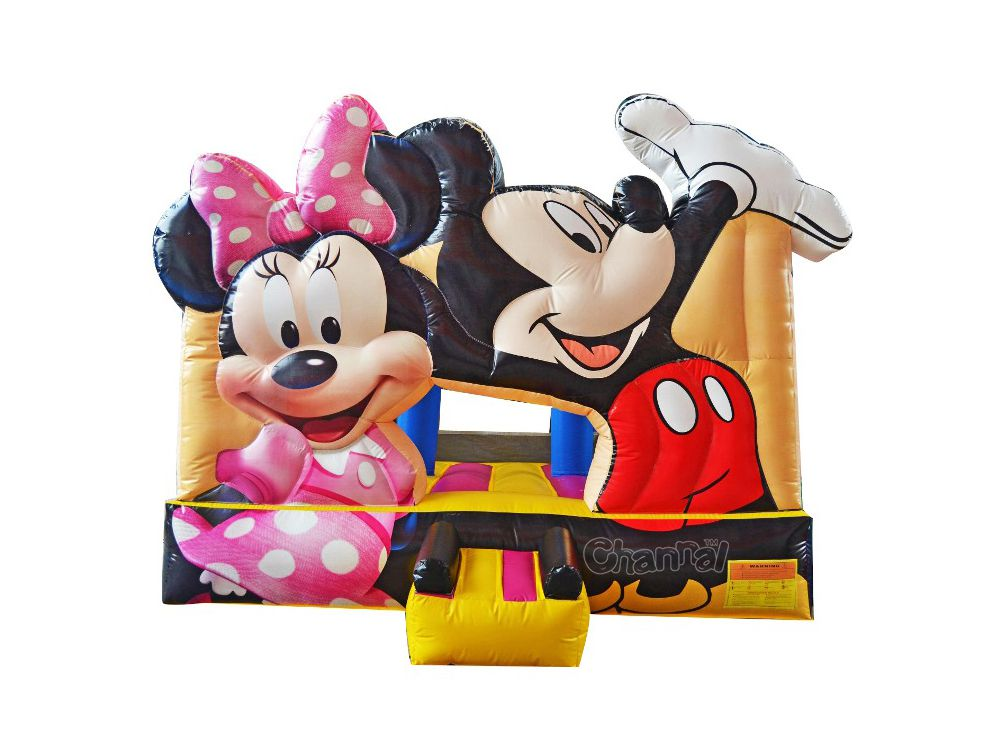 Buy Mickey Minnie Mouse Bounce House Channal Inflatables