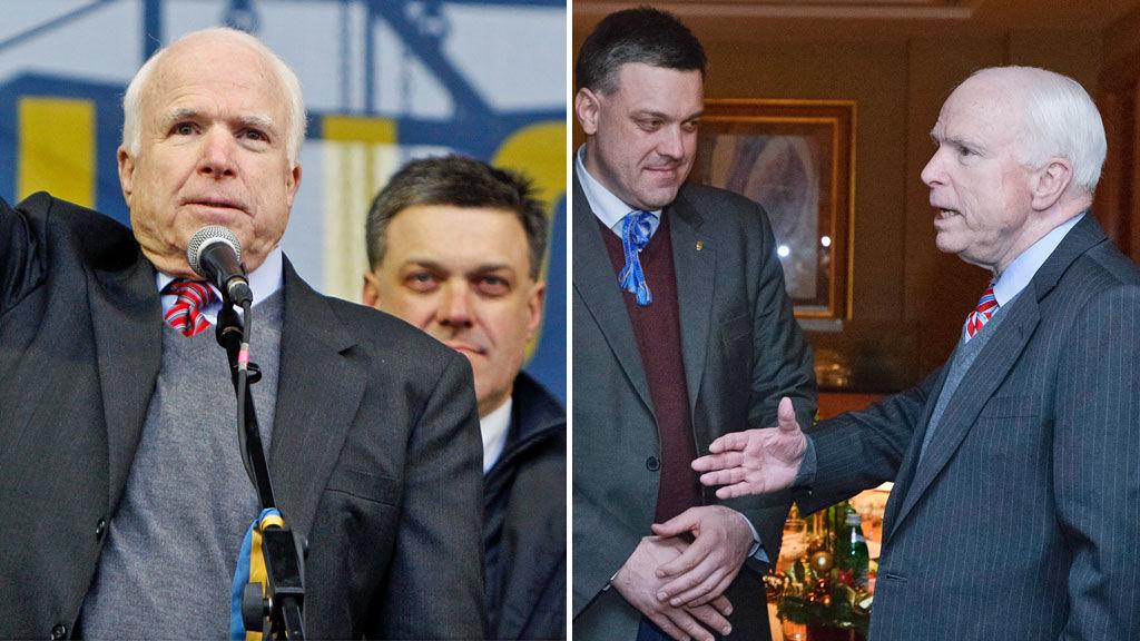 Protestos Ucrânia - ligações à extrema-direita?  (Reuters)