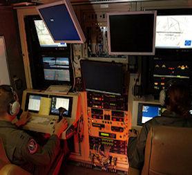 A predator control room