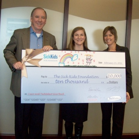 TechSelect cheque pic
