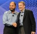 "Paul Moritz ""formally hands over"" VMware to new CEO Pat Gelsinger at VMworld"