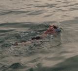 Arnie Bellini swimming