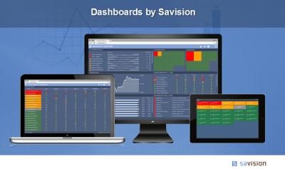 Savision - Dashboards slider