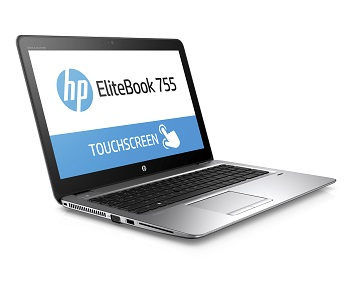 HP EliteBook 755 G3 (15, Asteroid, touch), Catalog, Right facing