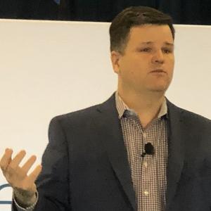 Scott Harrell, senior vice president and general manager of enterprise networking for Cisco