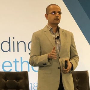 Nirav Sheth, vice president of partner solutions, architectures and engineering at Cisco
