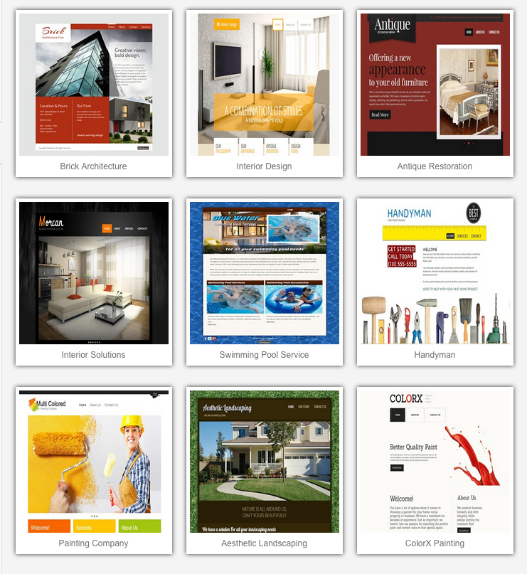 Image: Home Templates