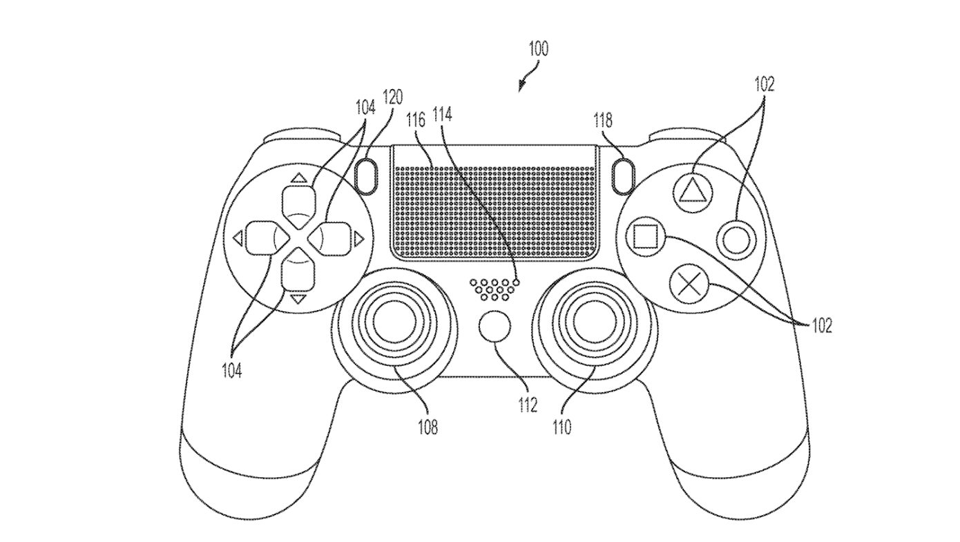 Sony Files Patent For Touchscreen Playstation Controller