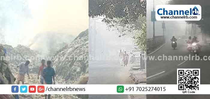 ബ്രഹ്മപുരം മാലിന്യ പ്ലാന്റിലെ