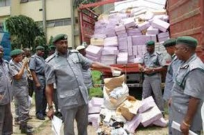 Image result for Nigerian Customs impounds Goods