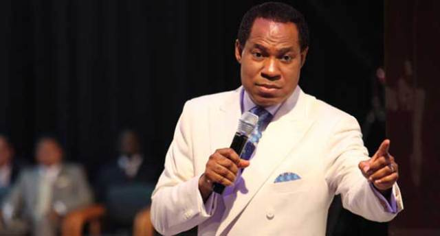 A file photo of Chris Oyakhilome