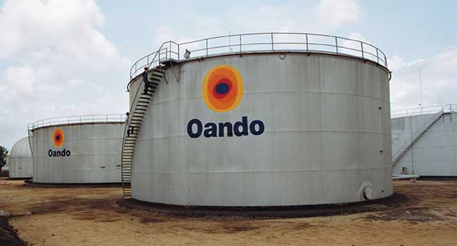 Nigerian Stock Exchange lifts suspension on Oando Plc shares