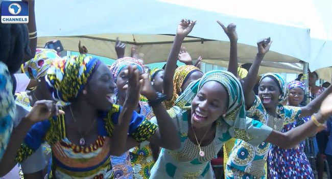 Chibok Community Celebrates Homecoming For 21 Rescued Girls