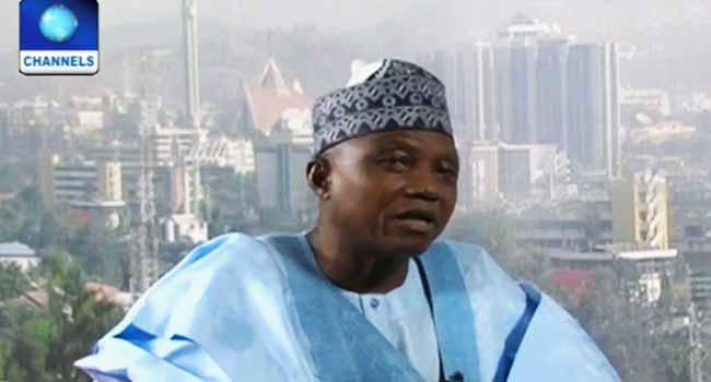 Buhari Greets Garba Shehu At 60