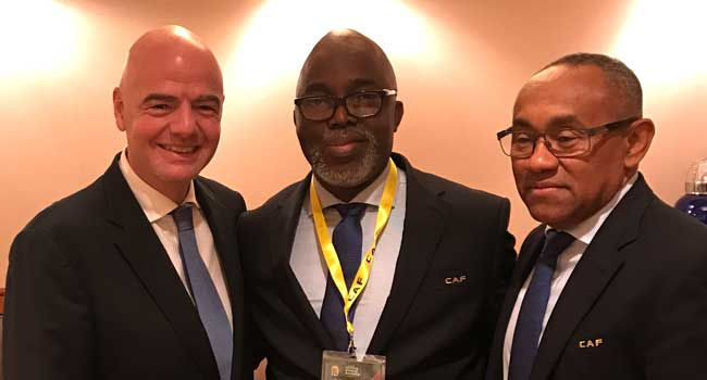 CAF Appoints Pinnick As President of AFCON, Media Committee