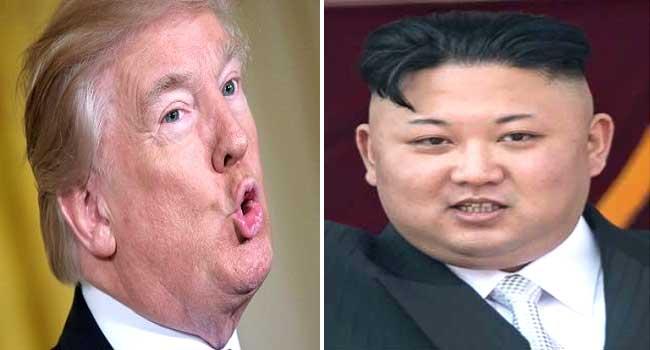 Donald Trump Kim Jong-Un Supremacy Battle