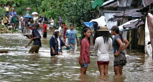 Over 30 dead in Philippines due to slow-moving storm
