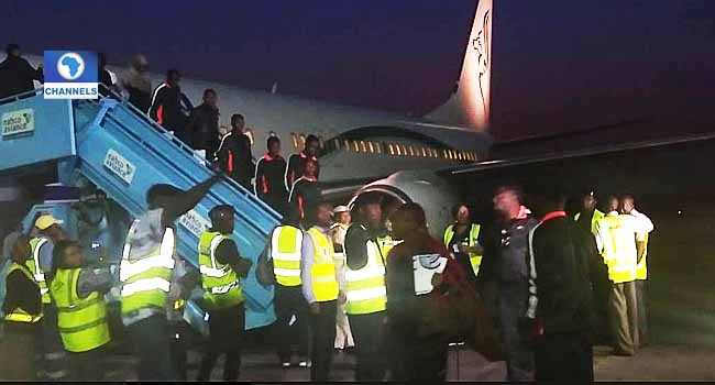 Libya Slave Trade: Another 257 Nigerians return