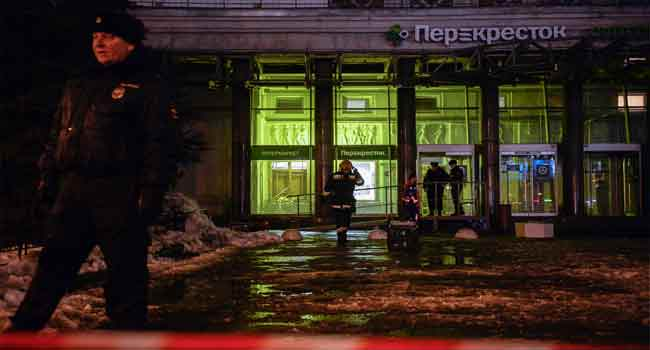 St Petersburg supermarket blast suspect detained - FSB