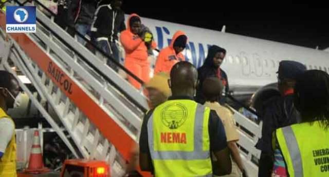 155 Nigerians Return From Libya
