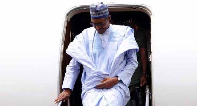 BREAKING: President Buhari Arrives Yobe State