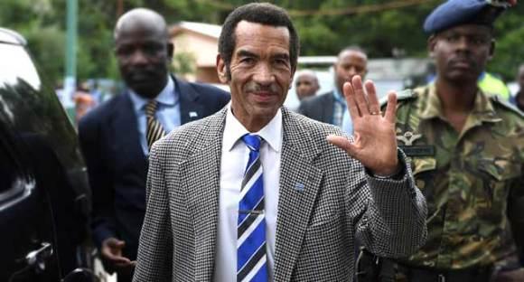 Ian Khama Steps Down As Botswana's President