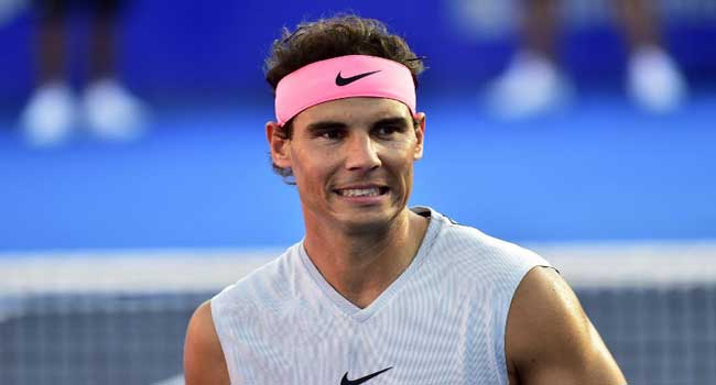Nadal pulls out of Mexican Open with injury