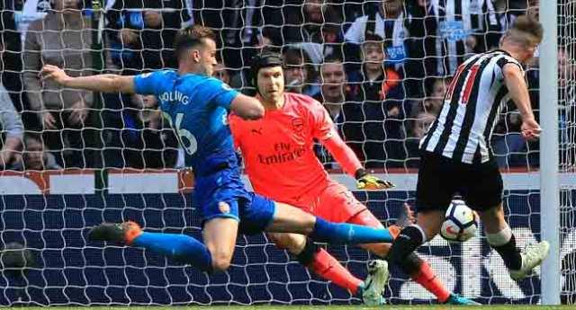 Newcastle Hit Back To Beat Arsenal