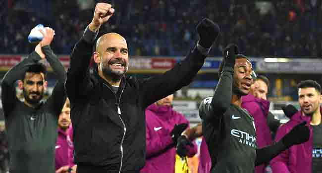 Man City win Premier League title