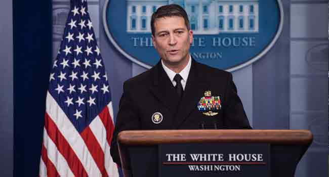 Trump administration's VA Secretary pick Ronny Jackson withdraws