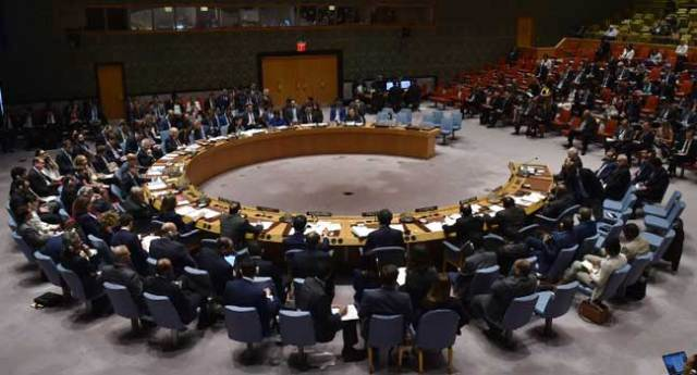 UN Security Council Meets On Syria Strikes