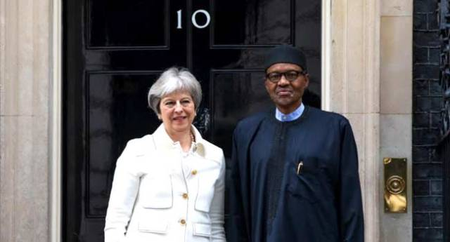 2019 Elections: I'm Bothered More About Security And Economy, Buhari Tells Theresa May